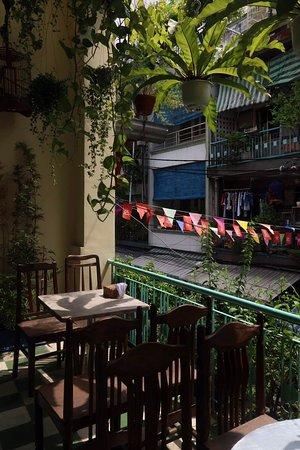 Hidden cafe in Saigon