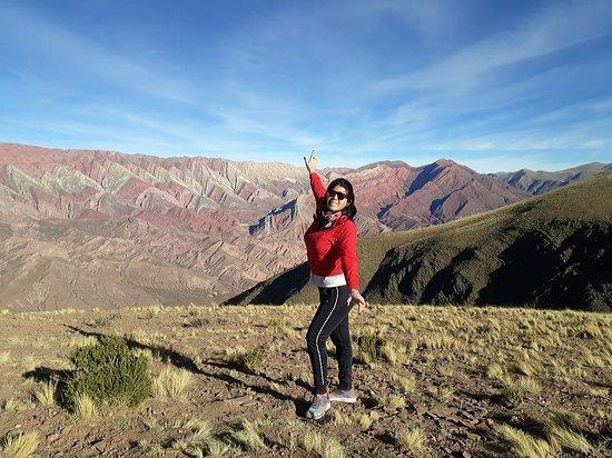 Serranias Del Hornocal: 2do mirador donde accedes descendiendo unos 400 mtros aprox, a pie