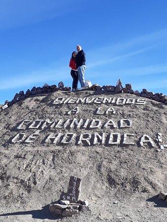 Serranias Del Hornocal: Entrada donde se paga una colaboración