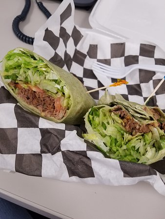 Hunt Valley, MD: can you see a cheese steak wrap?