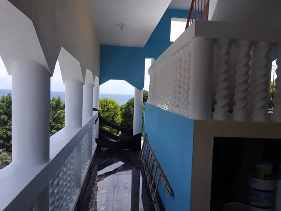 Bull Bay, Jamaica: Balcony