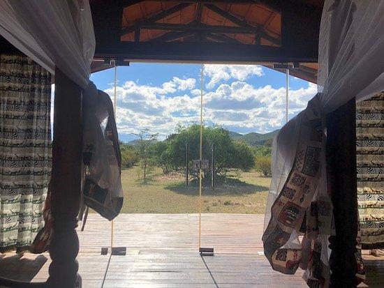 "Sojourn Safaris : Our ""tent"", arranged through Robert"