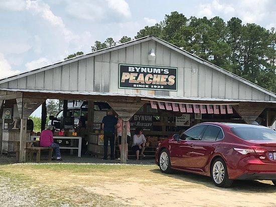 Ellerbe, NC: Bynum's Peaches Stand
