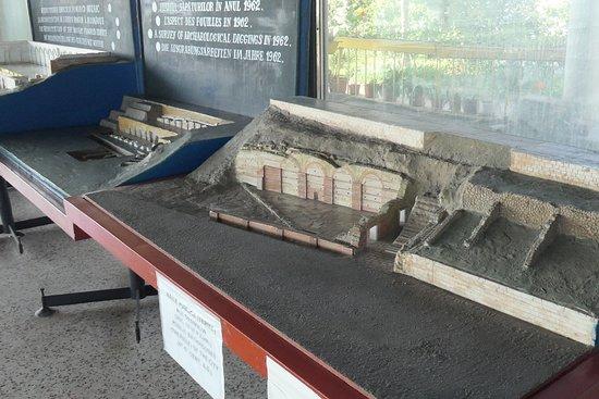Реконструкция макета здания