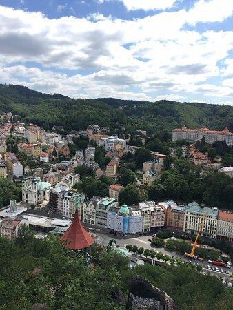 Обзорная площадка с видом на город
