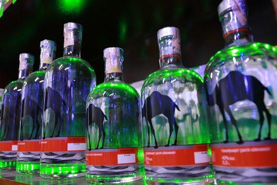 Kerki, Turkmenistan: GARA DERWEZE liquor store