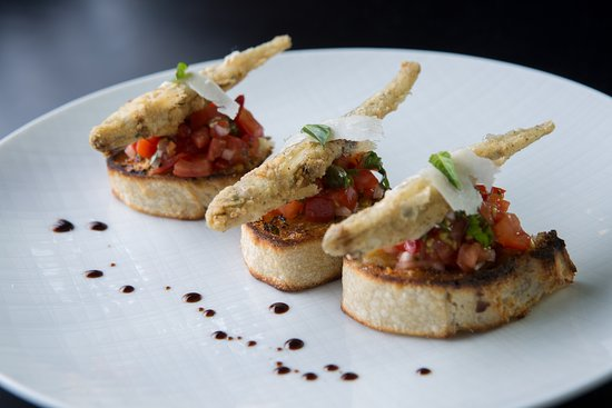 Bruschetta with Smelts