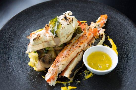 King Salmon & Crab