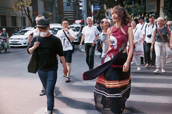 """Contemporary Ao dai - """"City of Star"""" campaign"""