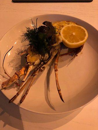 ARC Dining: crayfish