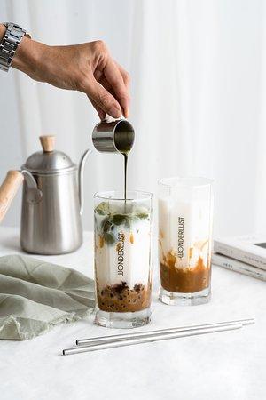 Caramel Matcha Latte
