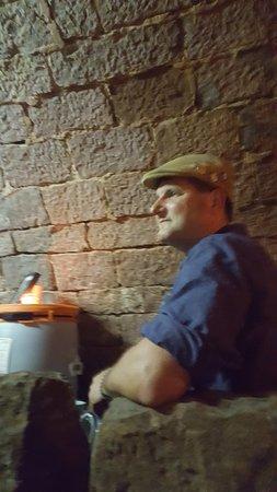 Führung durch die Apfelwein (Moscht) - Keller in Schneeberg
