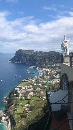BEST VIEW of Anacapri
