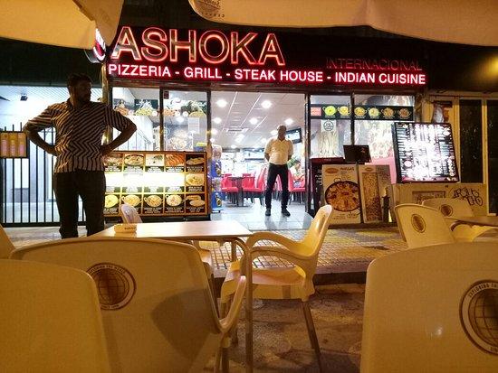 Ashoka restaurante