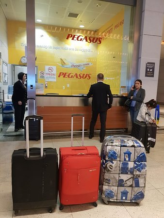 Pegasus Airlines: Wasted time contacting the office at the Airport, only to be declined the claim later