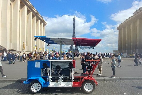 Demi Tour - Beer Bike Paris