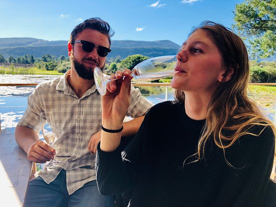Hog Hollow Horse Trails: Method Cap Classic sparkling wine produced and enjoyed at Kay and Monty and Lodestone Wine Estates.