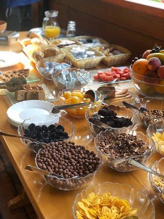 Los trabajadores muy amables y en todo momento dispuestos al cliente. El hotel muy limpio, la comida exquisita. Un lugar para descansar en medio de la naturaleza. Lo que si nos dimos cuenta es que en Eslovenia el checking lo hacen a las 10am demasiado pronto!
