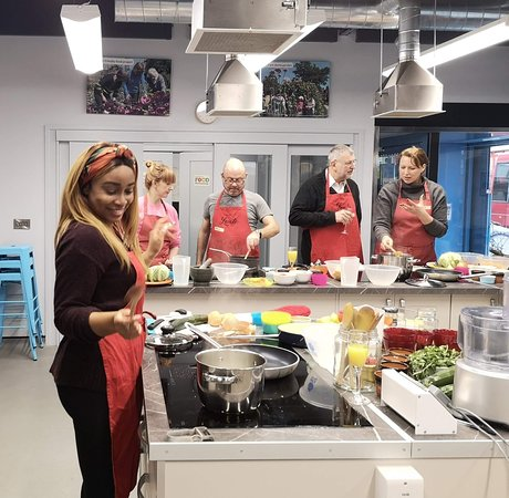 Lerato Umah-Shaylor creating a West African feast