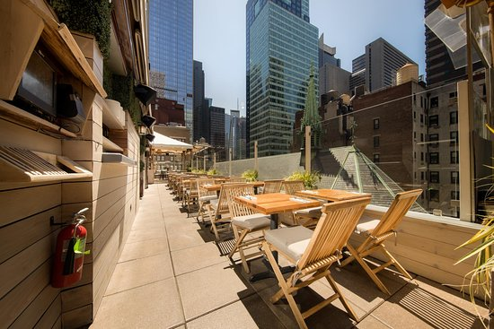 Haven Rooftop New York City Midtown Restaurant Reviews