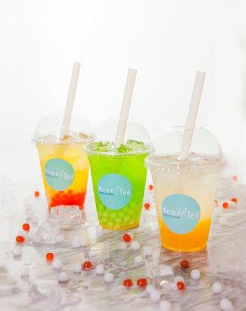 Choisissez votre saveur et les perles fruitées qui accompagnent votre thé.