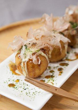 De délicieux takoyakis pour le déjeuner