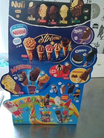 Sestao, Ισπανία: Nuestros helados