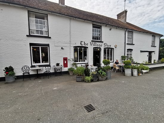 The Village Shop & Cafe: View from outside