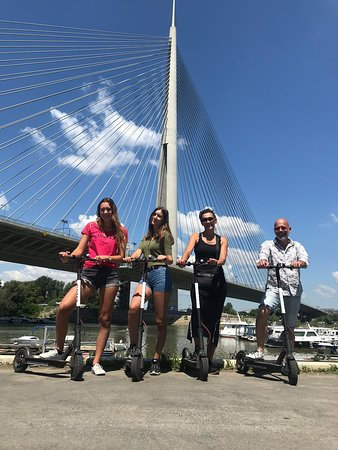 Belgrade, Serbia: Start your day with a smile with Ooter scooter 🛴