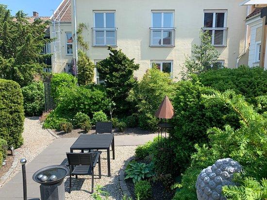 Hotel Dannegarden: Vår trädgård att njuta i
