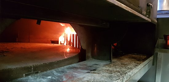 Our wood burning oven