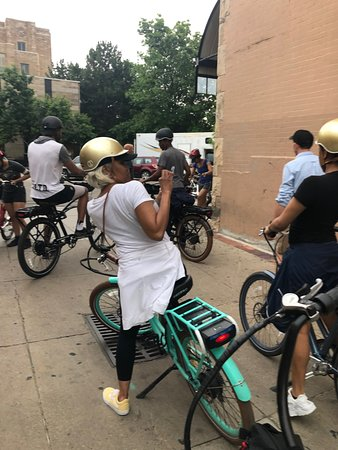Best of Boulder E-Bike Tour: Starting to ride...
