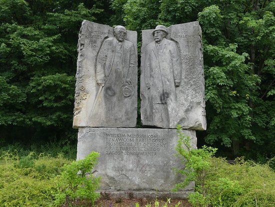 Monument to Szafer and Zapałowicz
