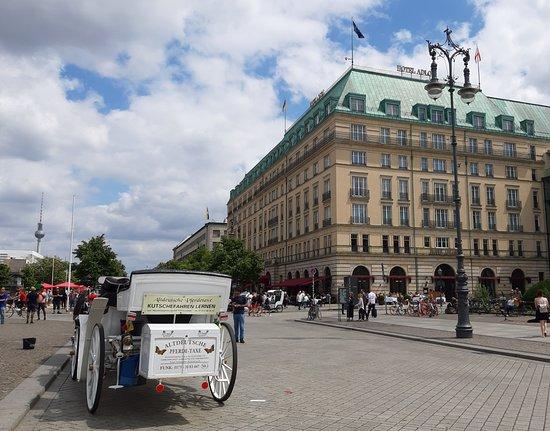 Adlon Hotel Kempinski in Berlin at Pariser Platz