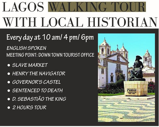 Lagos Walking Tour