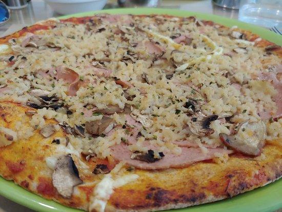 Dolce Pizza y Los Veganos: Excelwnte calidad, precio y sabor