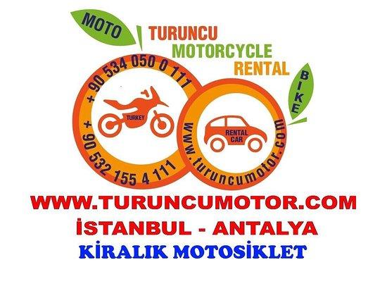 Motorcycle Rentalmotorbike İstanbul Antalay İzmir Türkiye 🇹🇷 turuncumotor@gmail.com  +905340500111
