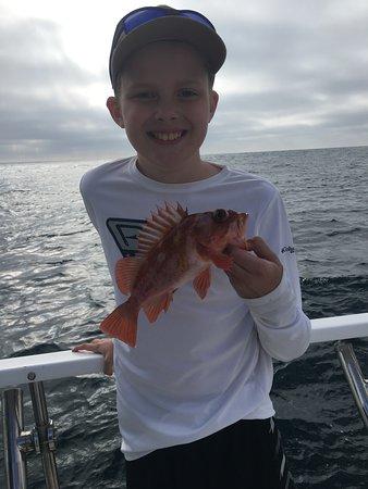 Happy Fisher Boy!