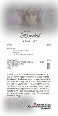 Eirawen Day Spa: Wedding Make Up