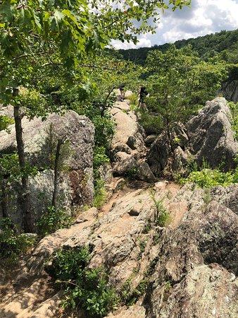 Adventurous hike