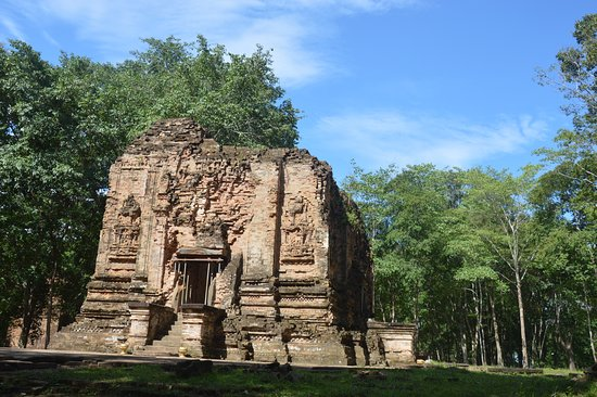 Kampong Thom, Cambodia: Early Sombo prey kuk Tepmple from 7th century