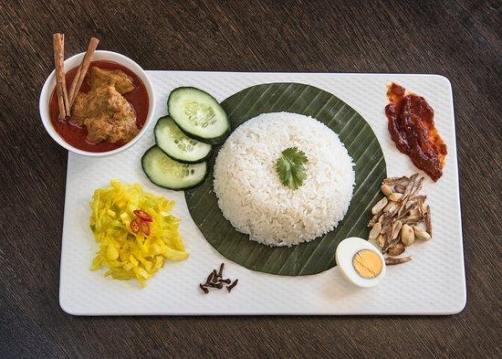 Chef Mom: Nasi Lemak Curry Chicken