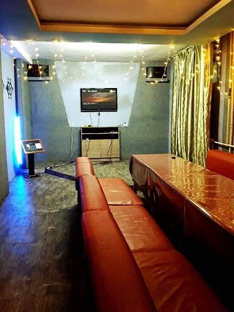 Also we have Karaoke rooms for 4-15 persons, located on the basement B1 floor of the building.