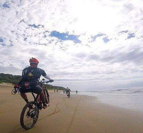 Cycle the wild coast South Africa with Shane Bennitt