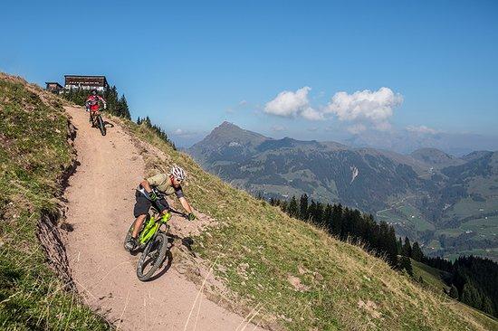 Bike Trail Hahnenkamm
