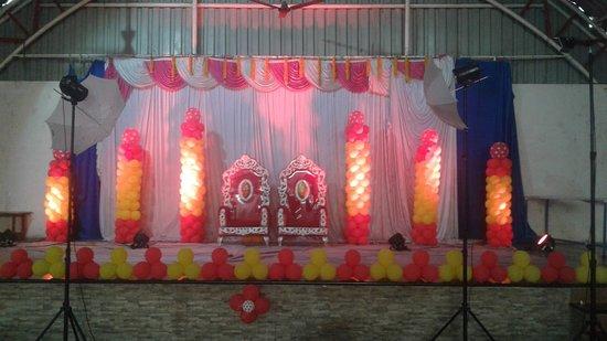Satara District, India: Dhanlaxmi Mangal Karyalay, Satara , Stage