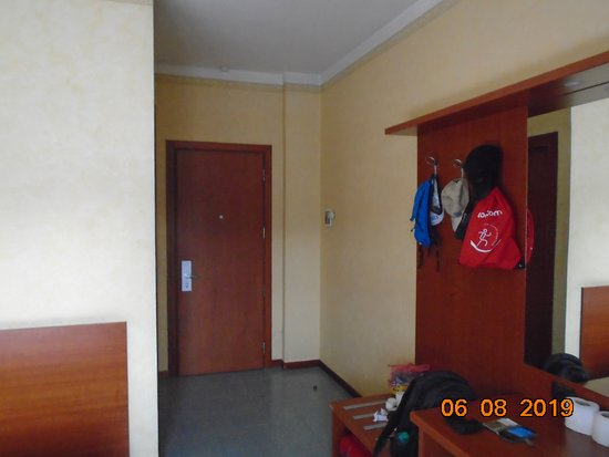 Entrance of the room