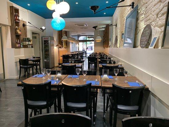 Pastel et Sarrasin: Salle restaurant
