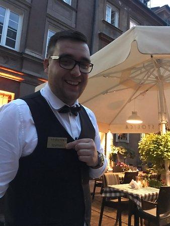 Wonderful experience! Szymon, our waiter was fantastic!!