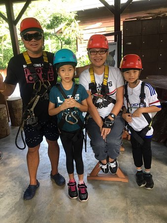 Umgawa Legendary Adventures: What a wonderful experience together with my children Aily & Eushenn and hubby had a fantastic experience at Umgawa.  An absolute must do activity at Langkawi! Highly professional team! Safety first! Excellent guides, amazing nature! Even when you are afraid of heights a breathtaking fantastic experience!   Highly recommended.👍🏻👍🏻